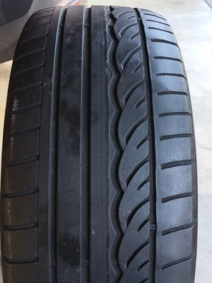 245 40 18 Dunlop SP Sport 01 RunFlat Tire - 1 Tire only 60% Life for Sale in San Francisco, CA