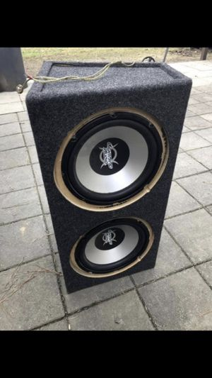 12 inch subwoofers $120 OBO need gone today for Sale in Durham, NC