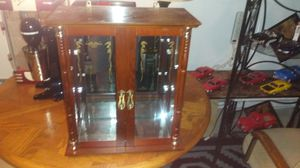 Wood display cabinet for Sale in Vancouver, WA