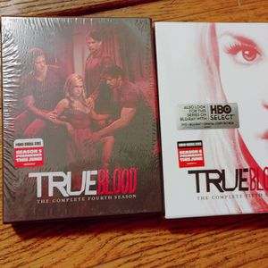 True Blood Seasons 4 & 5 BRAND NEW for Sale in Columbus, OH