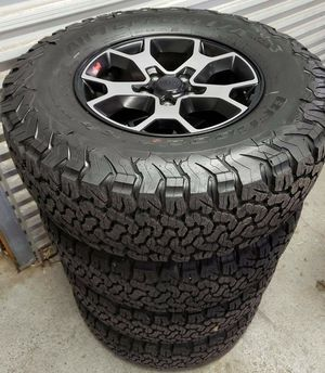 """17"""" Jeep Wrangler Gladiator Rubicon NEW wheels and tires for Sale in Solana Beach, CA"""