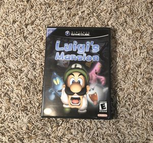 luigis mansion gamecube complete for Sale in Lewisville, TX