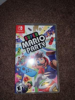 Nintendo Switch Super Mario Party Game for Sale in Stockton, CA