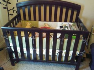 2 in 1 crib with changing table. for Sale in Derby, KS