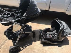 STROLLER AND CAR SEAT FOR INFANT BABY for Sale in Houston, TX