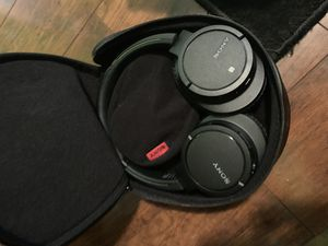 Sony headphones with case for Sale in Portland, OR
