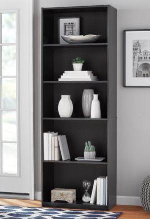 "New!! Bookcase, bookshelves, shelving display, organizer, storage unit, 5 71"" shelves bookcase, living room furniture, black for Sale in Phoenix, AZ"