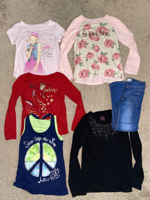 Size 6 Girl Clothes all for $5 for Sale in Huntington Beach, CA