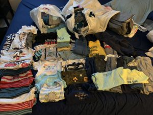 Boy 3-6 month clothes bundle OVER 50 PIECES! for Sale in San Jose, CA