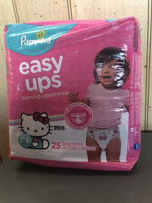 Pampers easy ups 2T 3T for Sale in Burbank, CA