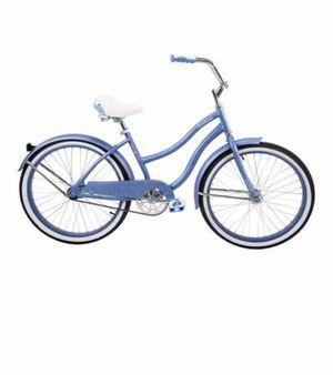 "Brand New Assembled Huffy 24"" Cranbrook Cruiser Bike- Periwinkle Blue for Sale in Kansas City, KS"