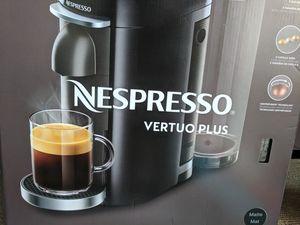 Nespresso VertuoPlus - Brand New Still in Box - Two Glass Mugs included for Sale in Washington, DC