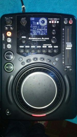 American Audio profesional cd and mp3 player, scratch and efects... for Sale in Murrieta, CA