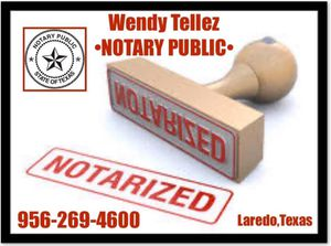 Notary Public for Sale in Laredo, TX