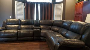 Leather Recliner Couch Set for Sale in Clovis, CA