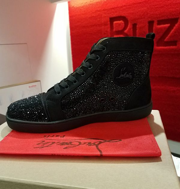 best sneakers bd463 6eeba Men's size 9.5 all black loubs for Sale in Queens, NY - OfferUp