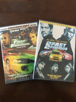 The Fast and the Furious 1&2 for Sale in San Luis Obispo, CA