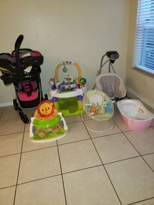Baby girl items for Sale in Pompano Beach, FL
