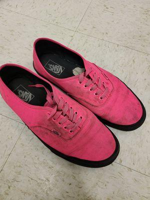 Pink vans men's 11 for Sale in Chicago, IL