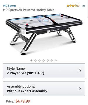 Air hockey table for Sale in San Jose, CA