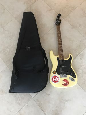 Electric guitar and case for Sale in Stuart, FL