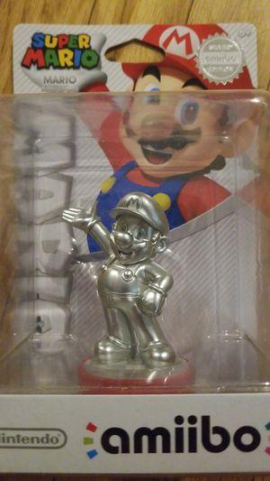Nintendo Amiibo Wii U Switch 3DS Silver Mario for Sale in Stockton, CA