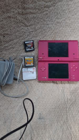 Nintendo DSi with charger and 2games. Pokemon pearl and Mario Party DS for Sale in Portland, OR