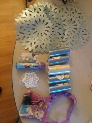 Disney Frozen birthday party lot Elsa, Anna, Olaf for Sale in Virginia Beach, VA