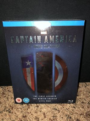 Captain America 3 Movie Collection for Sale in Chippewa Falls, WI