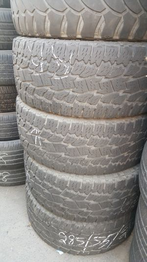 USED TOYO TIRES LT 285/55/20 for Sale in Fresno, CA