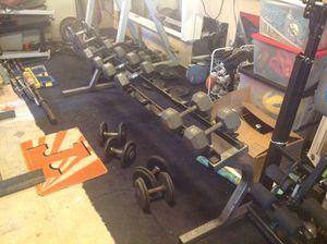 Dumbbell Rack, Heavy Duty Gym Equipment for Sale in Miramar, FL