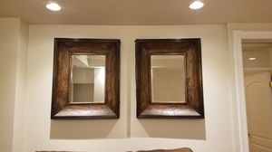 2 Brown Mirrors for Sale in Salt Lake City, UT