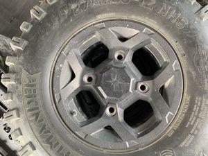 Polaris RZR wheels and tires!! for Sale in Albuquerque, NM