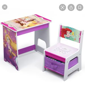 Brand New Toddler Desk And A Minnie Mouse Convertible Bench for Sale in Fontana, CA