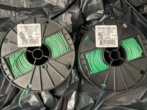 GREEN WIRE 2-ROOL for Sale in Brooklyn, NY