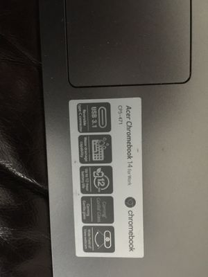 Acer chrome book CPS-471 for Sale in Denver, CO