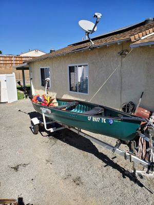 2005 Canoe and Trailer for Sale in Santee, CA