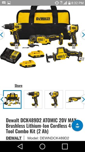 New Dewalt 4-tool Combo Kit for Sale in Moriarty, NM