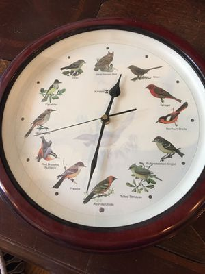 Rare singing bird clock for Sale in Hinsdale, IL