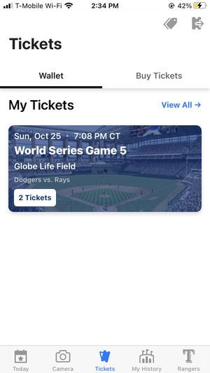 World Series Tickets 2020 for Sale in Yorba Linda, CA