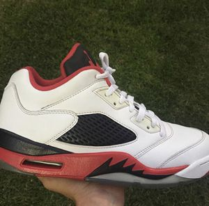 "Jordan 5 low "" fire red"" for Sale in Ontario, CA"