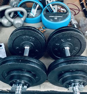 Adjustable Dumbbells made to size for Sale in Davie, FL