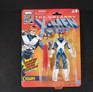 Marvel Legends Xmen Retro Cyclops Action Figure for Sale in MONTE VISTA, CA