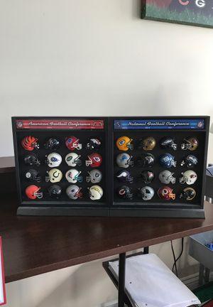 NFL Mini-Football Helmet Set for Sale in Charlottesville, VA