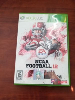 Xbox 360 football game for Sale in Moreno Valley, CA