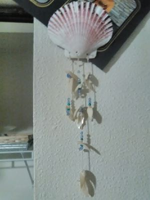 Seashell beaded decoration for Sale in Oskaloosa, IA