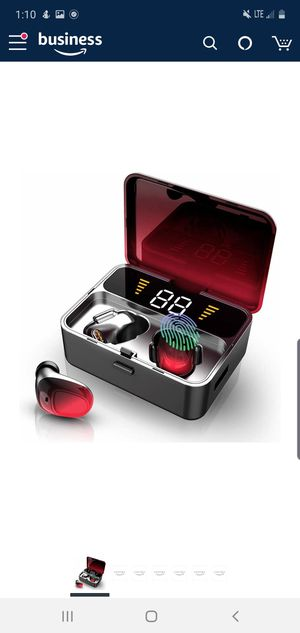 Bluetooth Earbuds with 2000mAh Charging Case NEW IN BOX for Sale in Virginia Beach, VA