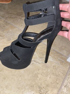 Black heels for Sale in Tampa, FL