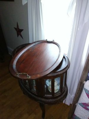 Antique chocolate table for Sale in Spartanburg, SC