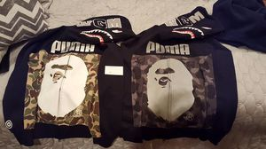 Bape x puma Sz Large for Sale in New York, NY